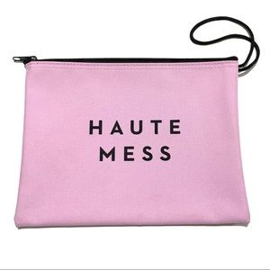🥳 4/$30 | Milly Haute Mess Canvas Pouch